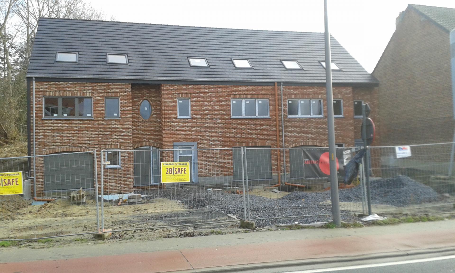 Construction de 3 maisons à Sterrebeek