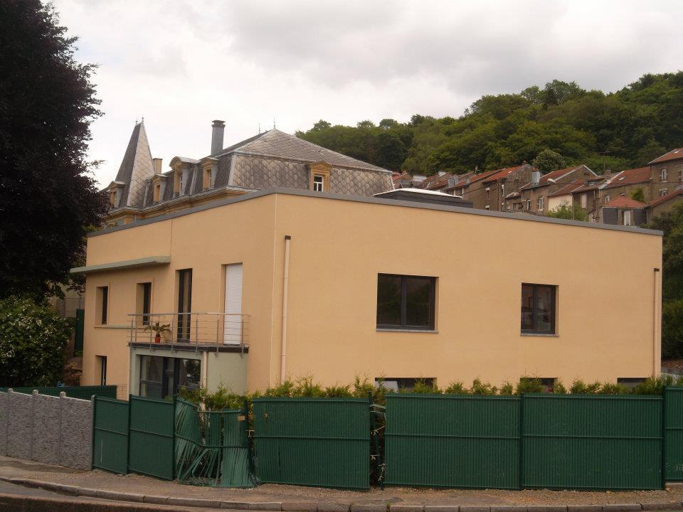 Transformation et construction d'une annexe à Longwy (FR)