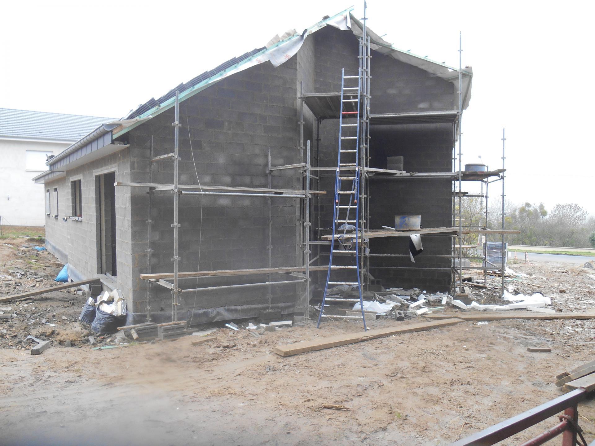 Construction d'une maison  à Ville Houdlémont (FR)
